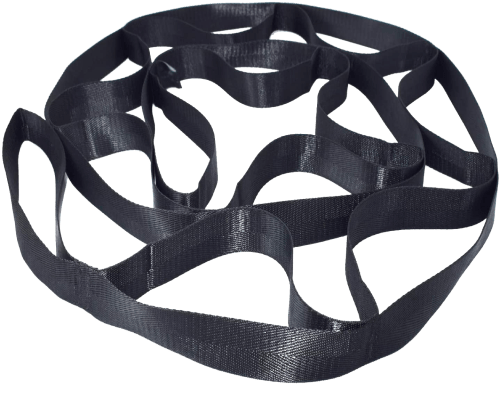 yoga & pilates multi-loop stretching strap 5