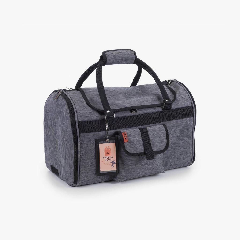 hideaway duffel - heather gray 1