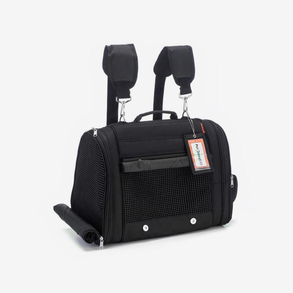 hideaway backpack - black 1
