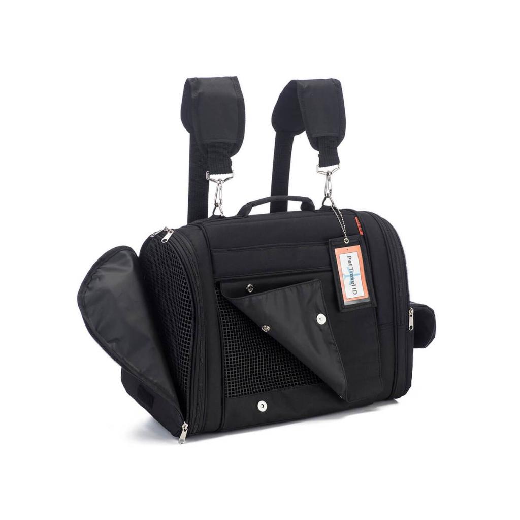 hideaway backpack - black 3