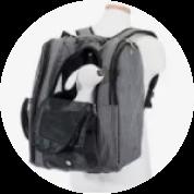 hideaway backpack - black 16
