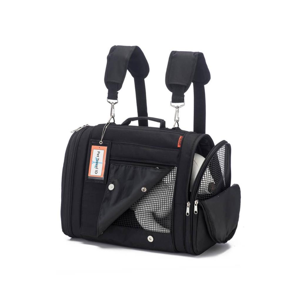 hideaway backpack - black 4