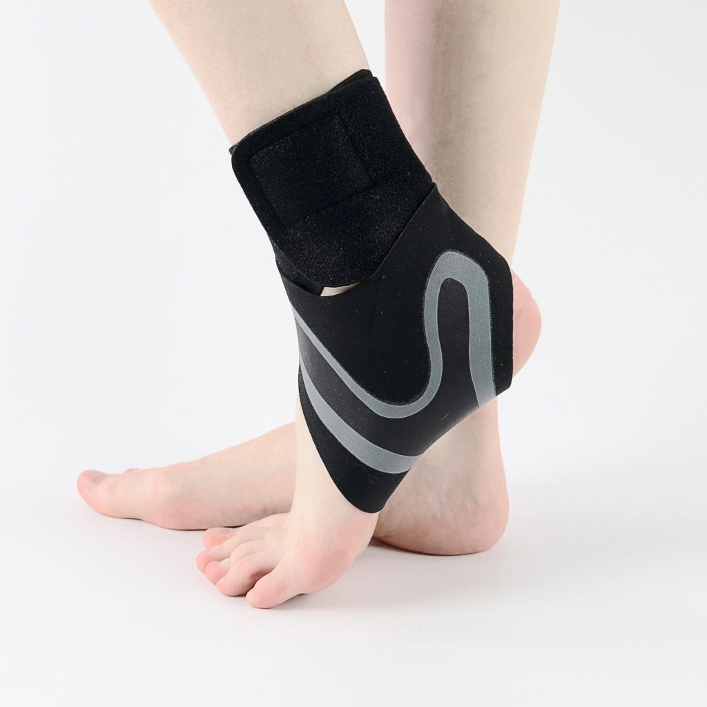 adjustable ankle compression brace set (right & left) 1
