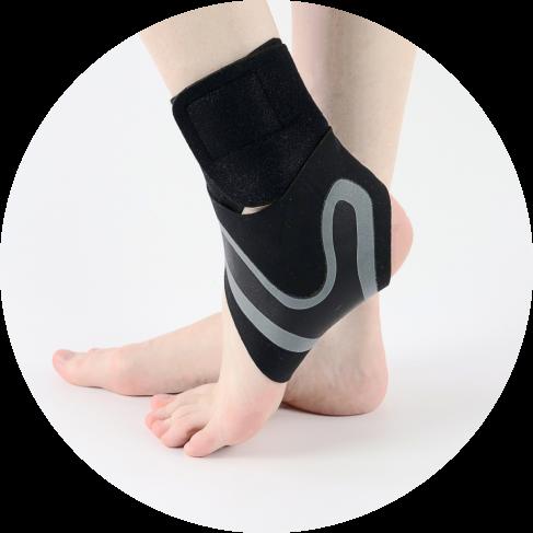 adjustable ankle compression brace set (right & left) 12