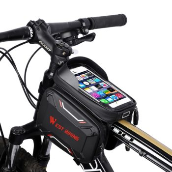 waterproof bicycle touch screen bag 14