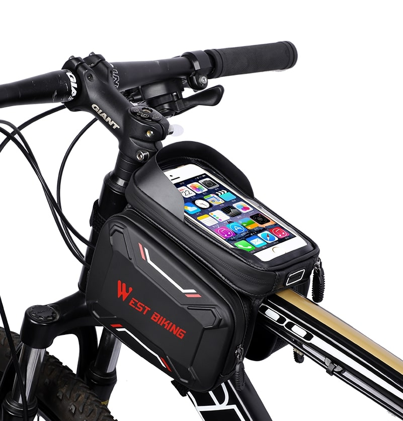 waterproof bicycle touch screen bag 6