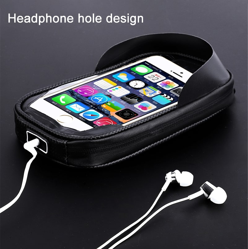 waterproof bicycle touch screen bag 4