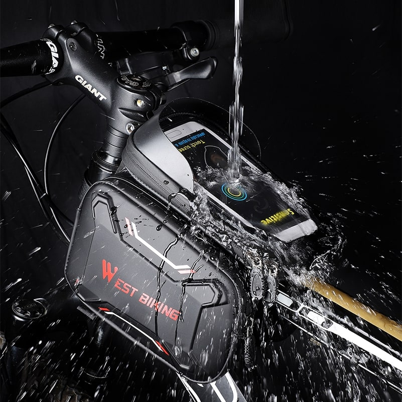 waterproof bicycle touch screen bag 9
