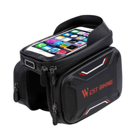 waterproof bicycle touch screen bag 18
