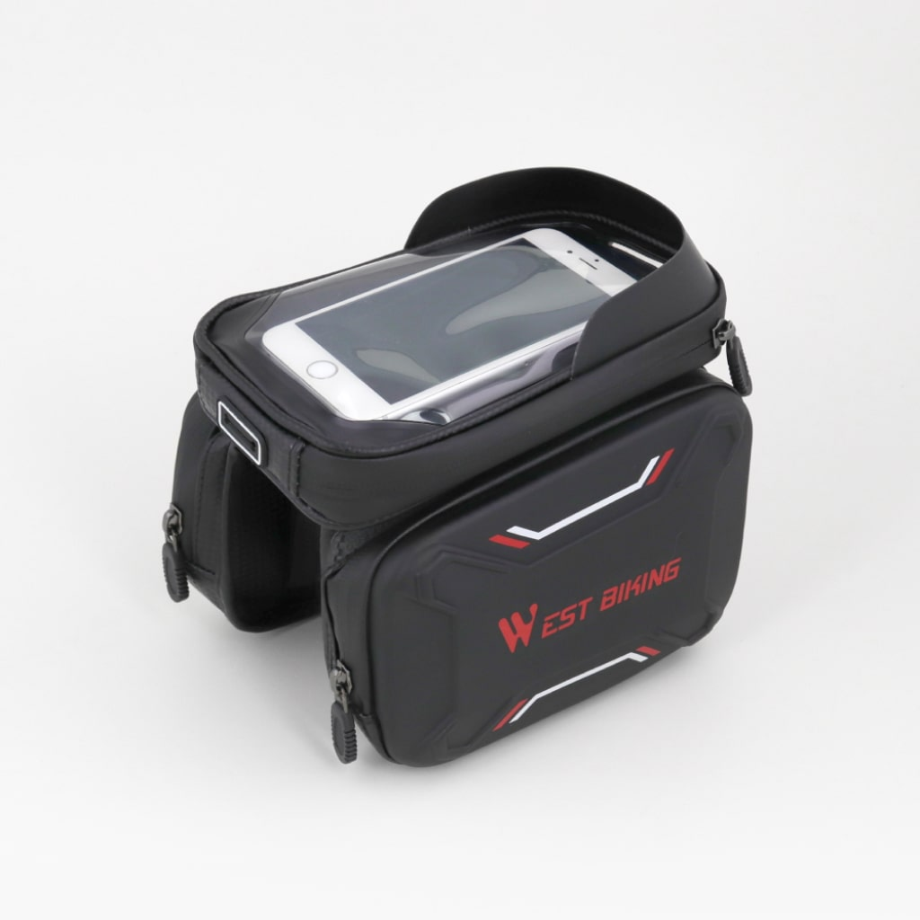 waterproof bicycle touch screen bag 1