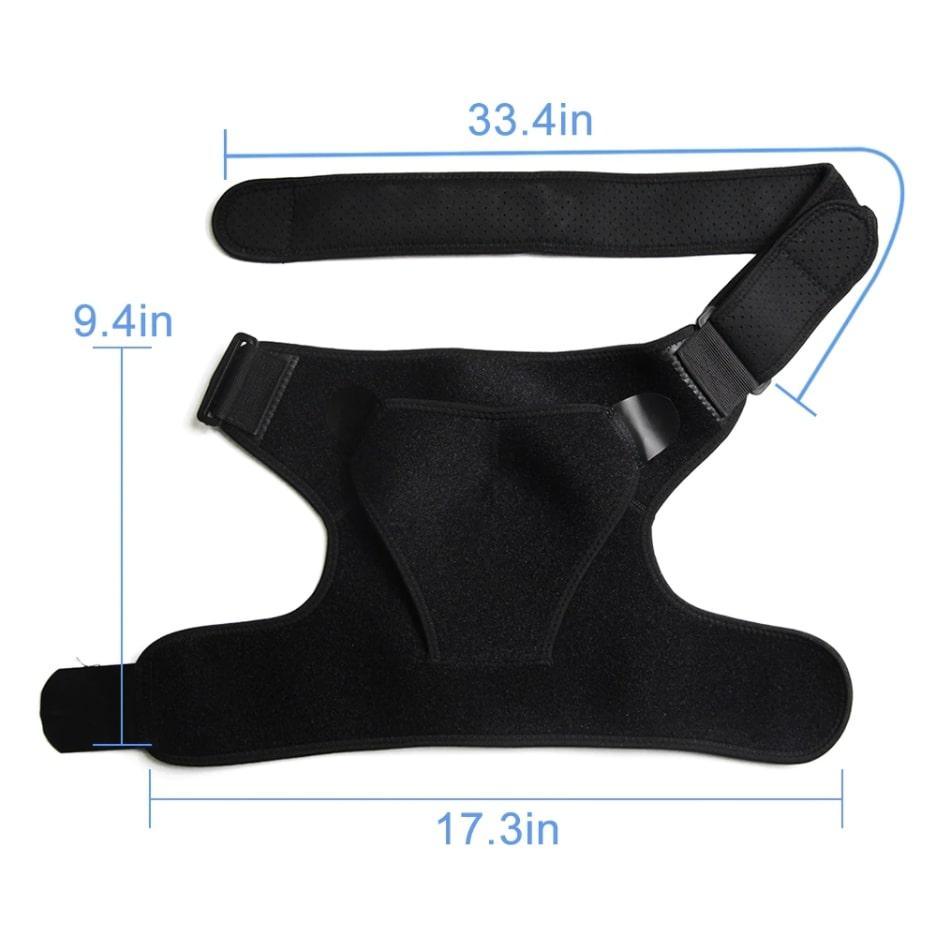 orthopedic left/right shoulder support brace 3