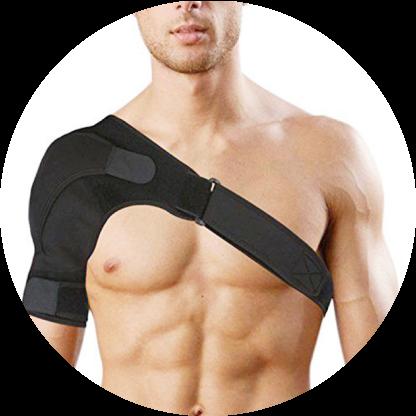 orthopedic left/right shoulder support brace 10