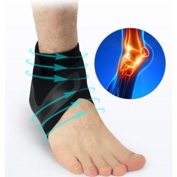 adjustable ankle compression brace 8
