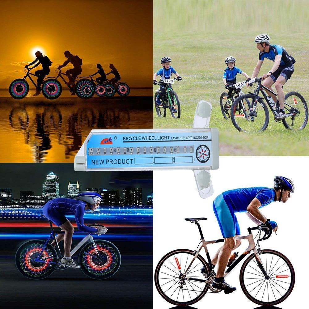 bicycle wheel flashing light 2