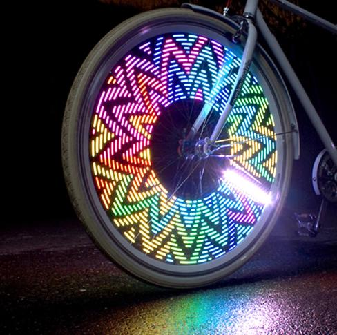 bicycle wheel flashing light 14