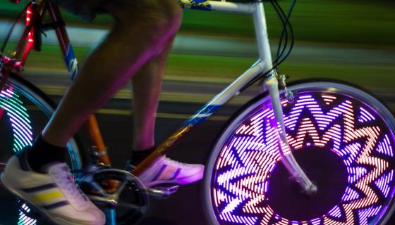 bicycle wheel flashing light 20