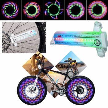 bicycle wheel flashing light 13