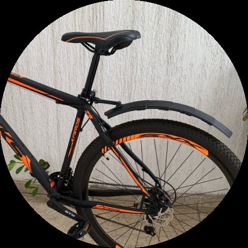 folding tail light bike fender 10