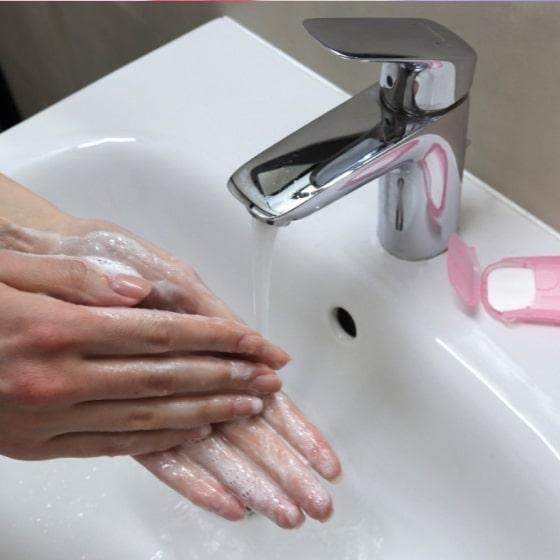 portable hand-washing soap paper (5 packs/100 sheets) 15