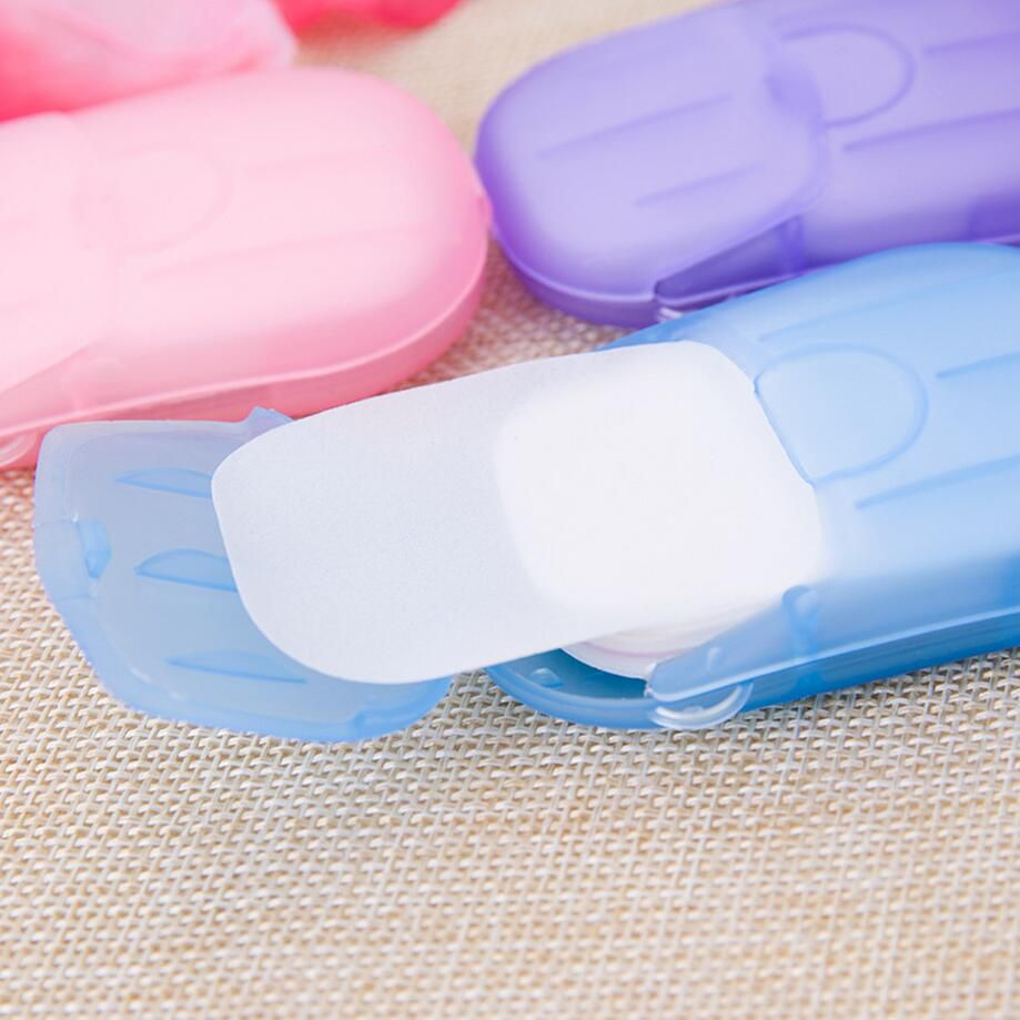 portable hand-washing soap paper (5 packs/100 sheets) 5