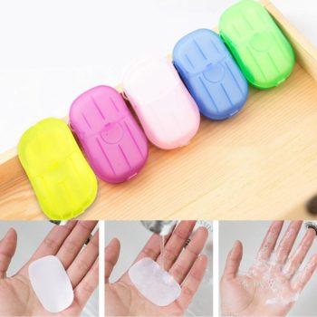 portable hand-washing soap paper (5 packs/100 sheets) 10