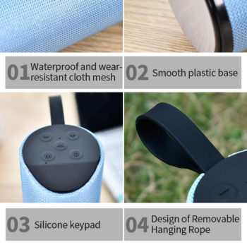 bluetooth portable speaker 15