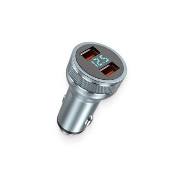 intelligent digital volt dual-usb charger port 3