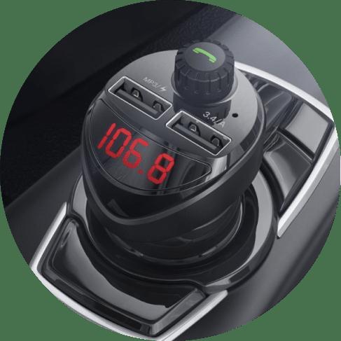 digital display car radio & phone control adapter 6