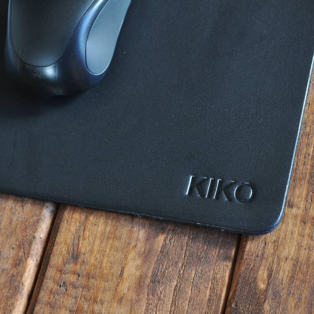 black leather mouse pad 4