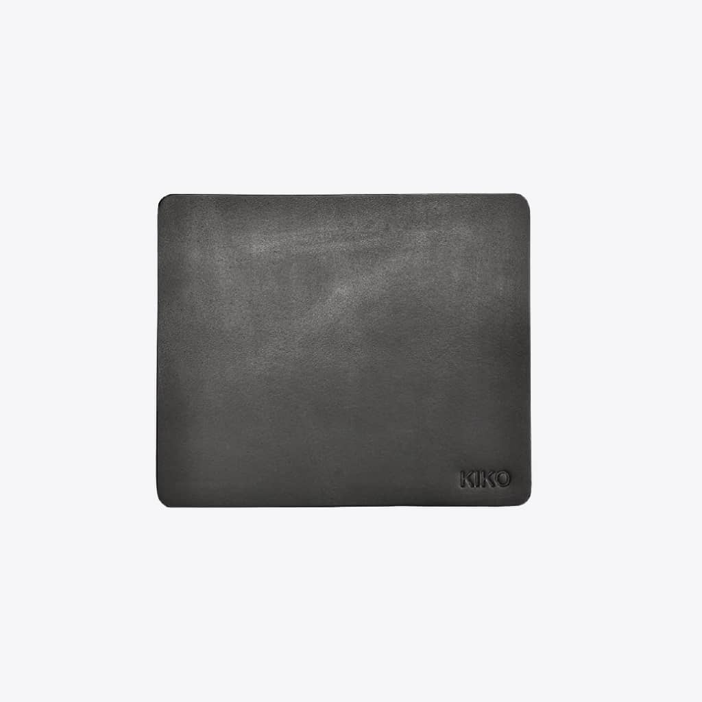 black leather mouse pad 1