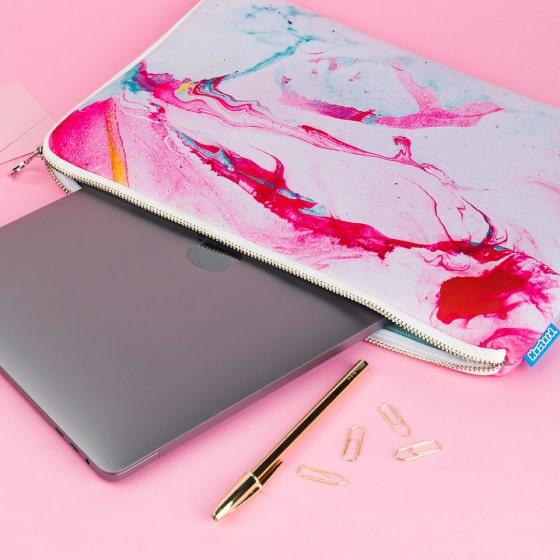 marble laptop case 8