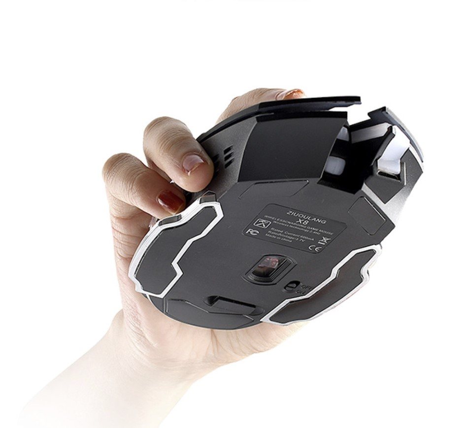 wireless silent gaming mouse 5