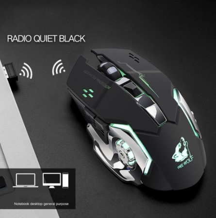 wireless silent gaming mouse 6