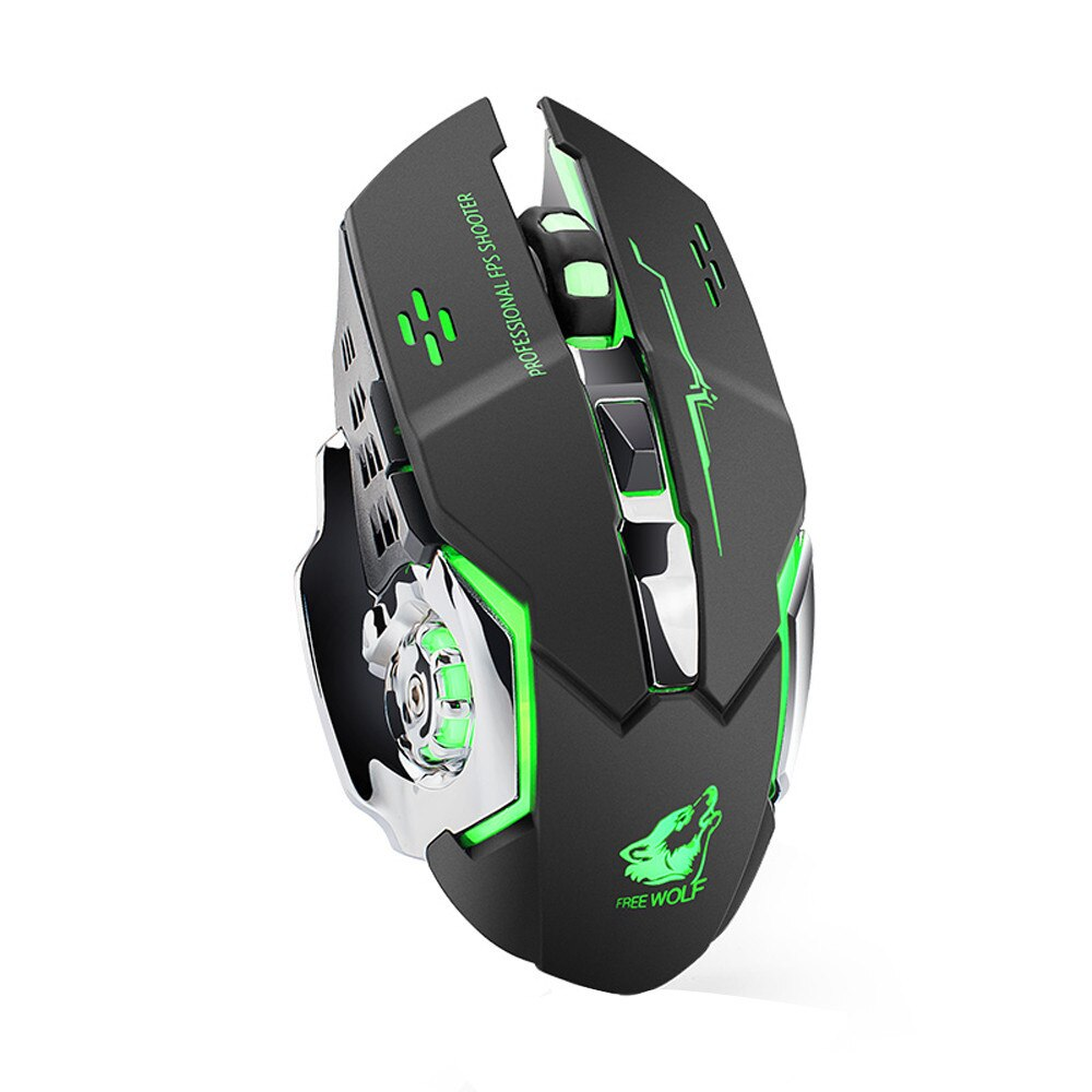 wireless silent gaming mouse 4