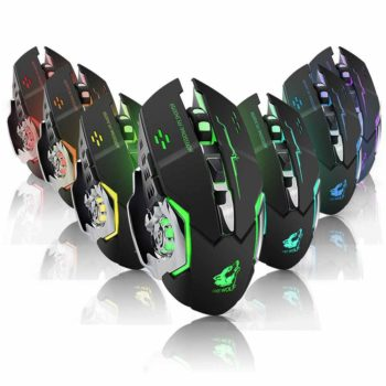 wireless silent gaming mouse 8