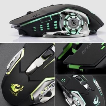 wireless silent gaming mouse 13