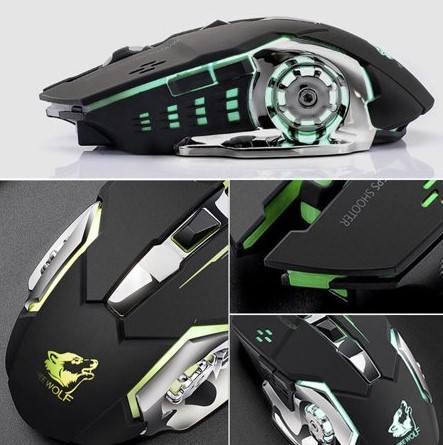 wireless silent gaming mouse 7