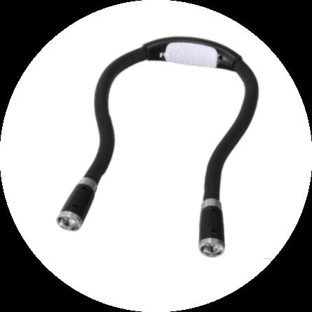 flexible neck reading light 10