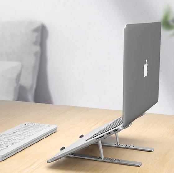 adjustable aluminum laptop stand 16