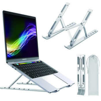 adjustable aluminum laptop stand 13