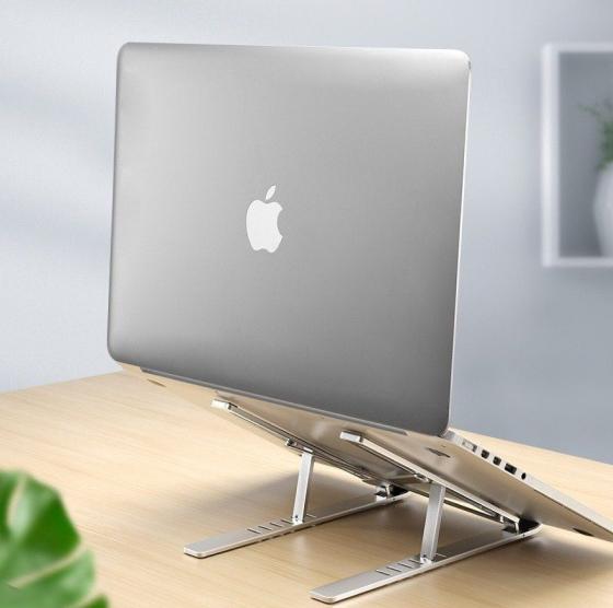 adjustable aluminum laptop stand 17