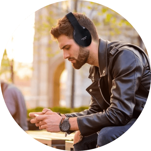 wireless foldable gaming headphones 10