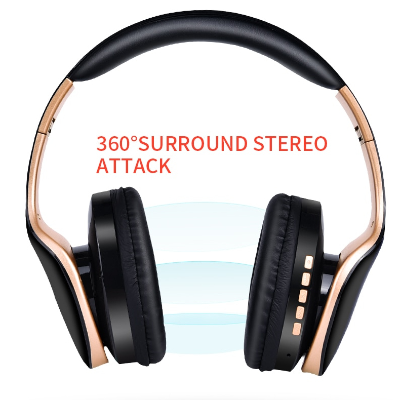 wireless foldable gaming headphones 5