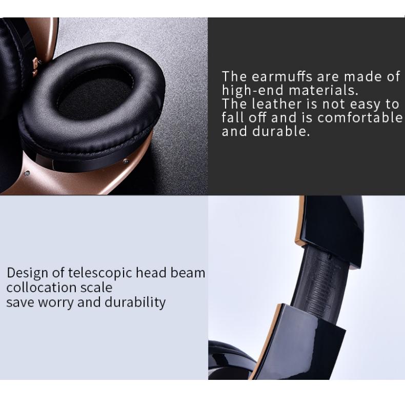 wireless foldable gaming headphones 4