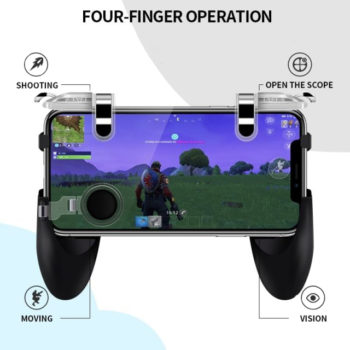 integrated handheld mobile game controller 8