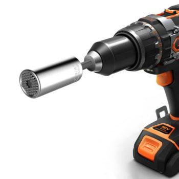 universal torque wrench head set 13