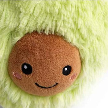 huggable plush avocado toy 10