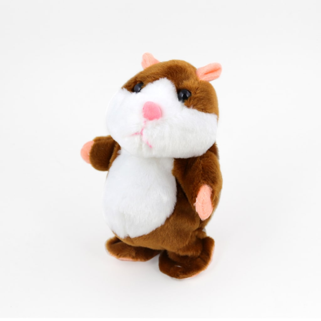 talking hamster plush toy 1