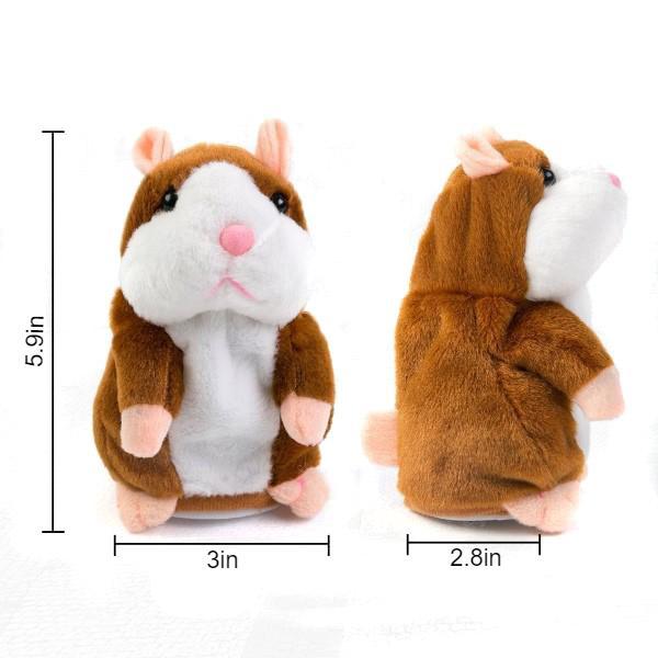 talking hamster plush toy 8